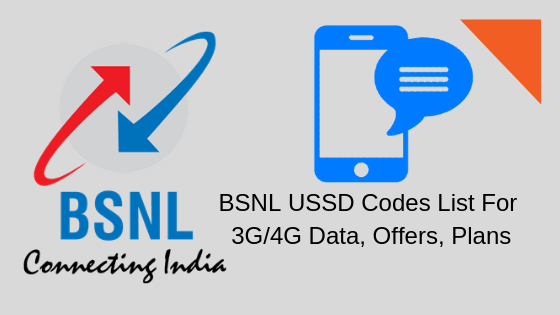 All BSNL USSD Codes to Check – Balance & Validity Offer & Loan