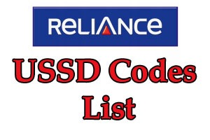 Reliance USSD Codes List To Check Balance, 3G/4G Data